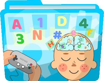 Gry z liczbami i literami na koncentrację - Wymagana znajomość liter i liczb - Trening skupiania uwagi dla dzieci