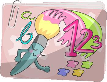KOLOROWANKI rozwijające skupianie uwagi - Trening koncentracji przez odczytywanie symboli kolorów - Gry z liczbami i literami na koncentrację