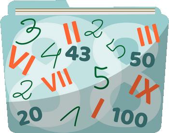 Liczby - 4 klasa - Naturalne, rzymskie, oś liczbowa - Zadania z matematyki