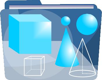 Bryły - 4, 5 i 6 klasa - Prostopadłościan, sześcian, graniastosłup, ostrosłup - Zadania z matematyki