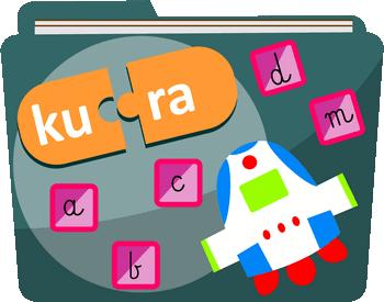 Litery, słowa, zdania - Ćwiczenia oparte na materiale literowym - Nauka czytania