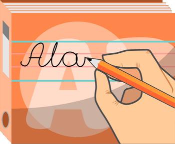 Nauka pisania - Ćwiczenia ułatwiające naukę pisania - Dysleksja rozwojowa