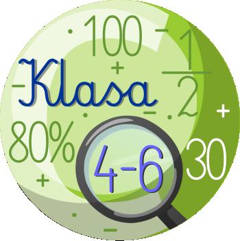 Umiejętności matematyczne - Diagnoza ukierunkowana dot. uczniów klas 4-6: obszar C - Diagnoza dysleksji