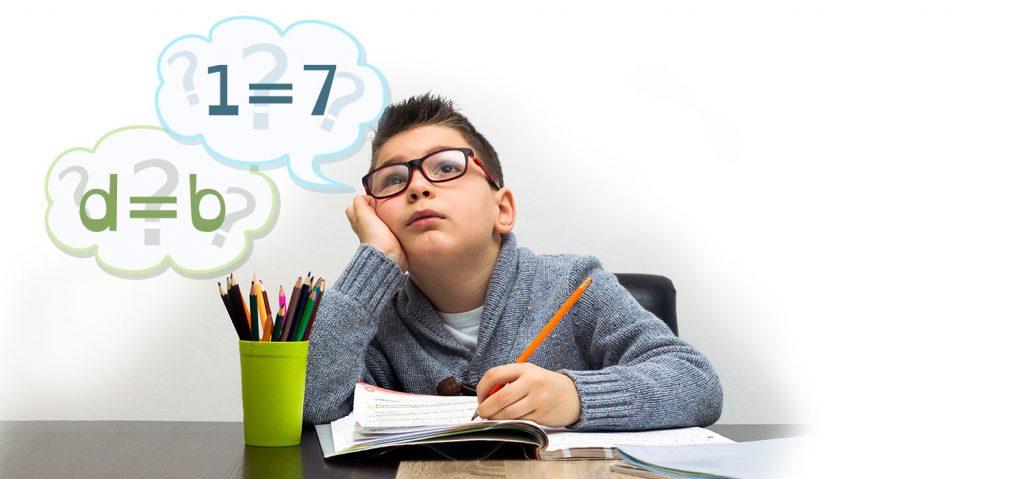 chłopiec problem dysleksja
